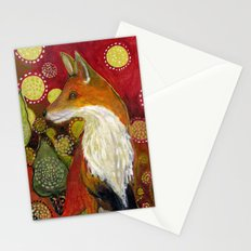 Fox Listens Stationery Cards