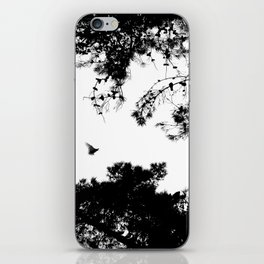 freedom to fly up to sky iPhone Skin