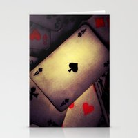 poker Stationery Cards featuring Poker  by    Amy Anderson