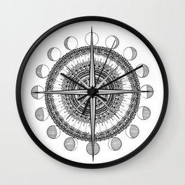 Due North Wall Clock