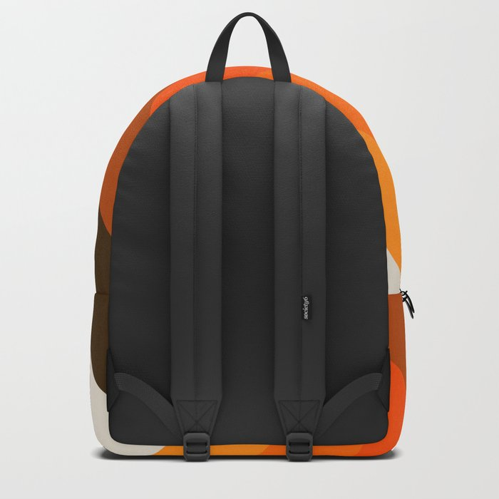 Golden Thick Angle Backpack