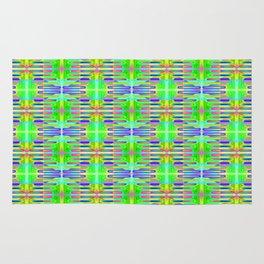 Radient-sticks-pattern #1 Rug