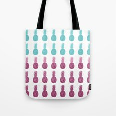 Pineapples - Ocean Mist Tote Bag