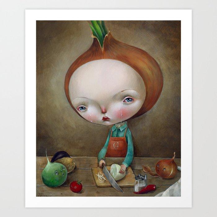 Cippolino Art Print