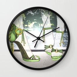 Central park stroll Wall Clock