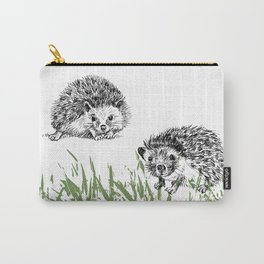 Hedgehogs print Carry-All Pouch