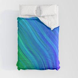 stripes wave pattern 1 stdv Comforters