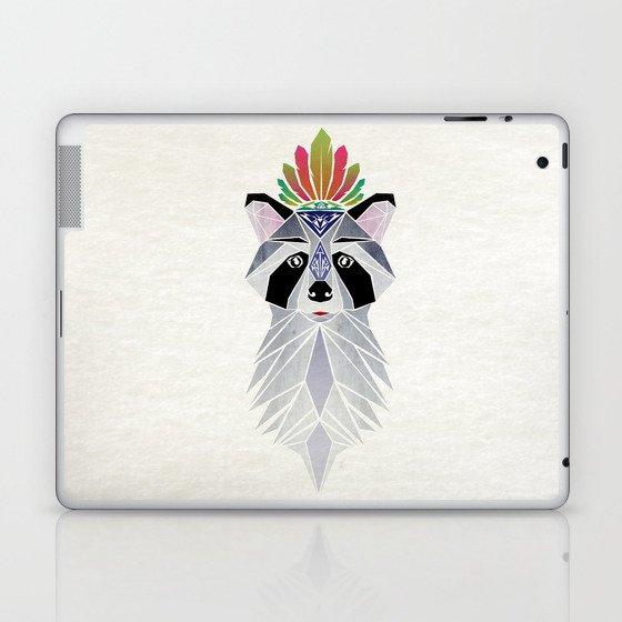 raccoon spirit Laptop & iPad Skin