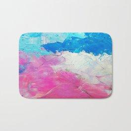 Colorful Oil Painting Bath Mat