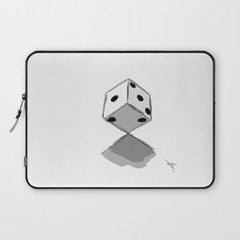 Dice Sketch  Laptop Sleeve