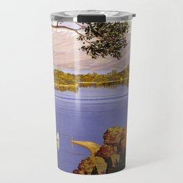 Vintage poster - Lake Garda Travel Mug