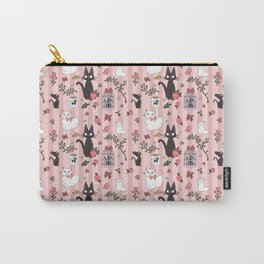 Jiji Cat Pattern Carry-All Pouch