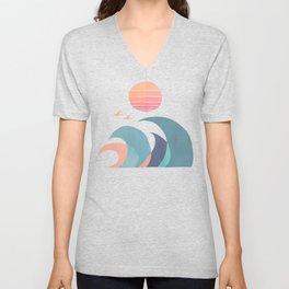 Ocean call Unisex V-Neck