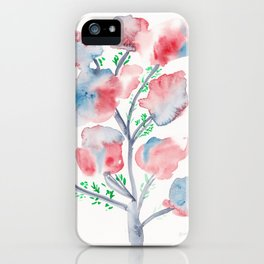 21  | Loose Watercolor Flower | 191015 iPhone Case