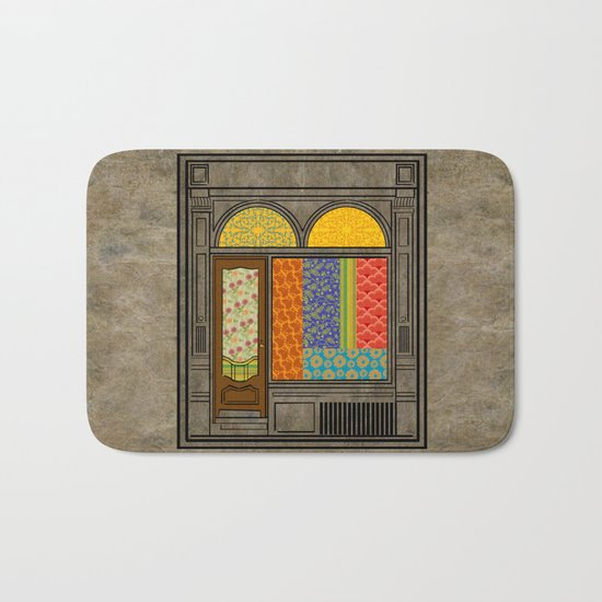 Shop windows Bath Mat