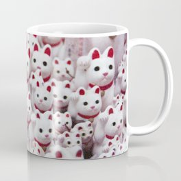 maneki neko cats Coffee Mug