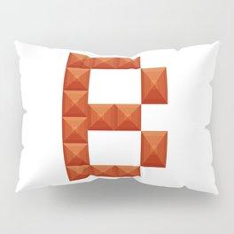 "Letter ""B"" print in beautiful design Fashion Modern Style Pillow Sham"
