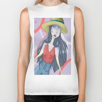 marceline Biker Tanks featuring marceline!! by clairen0vak