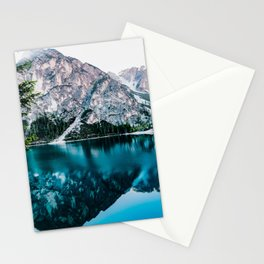 Moraine Lake Canada 4k Banff mountains lakes Alberta Banff National Park Stationery Cards