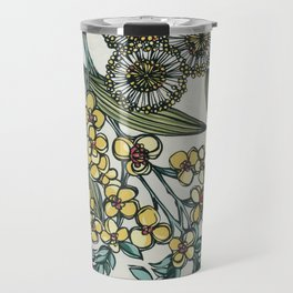 Australian Native Floral Travel Mug