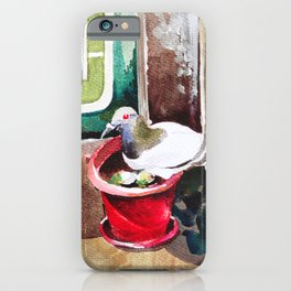 Pigeon Lakshmi iPhone Case