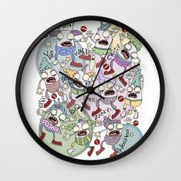 Clowns!!! Wall Clock