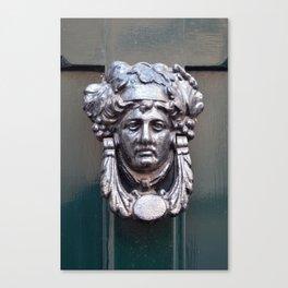 Door knocker Canvas Print