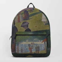 Georges Seurat - A Sunday Afternoon on the Island of La Grande Jatte Backpack
