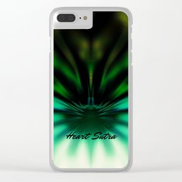 Nirvanna Heart Sutra Clear iPhone Case