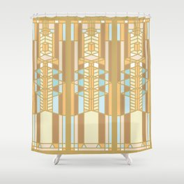 FL Wright - 3 Shower Curtain