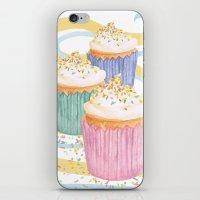 sprinkles iPhone & iPod Skins featuring Sprinkles by Hayley Bowerman Design