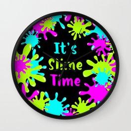 My Slime Wall Clock