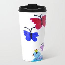 Queen Ducks | Drawing Travel Mug
