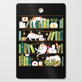 Library cats Cutting Board