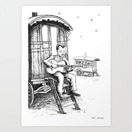 Django Reinhardt Art Print