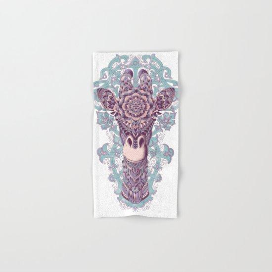 Giraffe (Color Version) Hand & Bath Towel