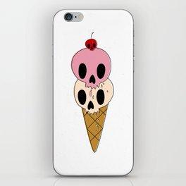 Skull Ice Cream iPhone Skin