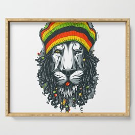 LION--MARLEY Serving Tray