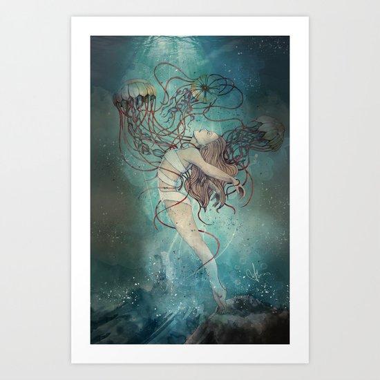 Dione Art Print