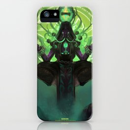 Embrace Insanity iPhone Case