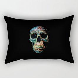 Sugar Skull Color Rectangular Pillow
