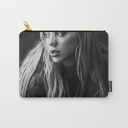 Billie Eilish Black White Carry-All Pouch