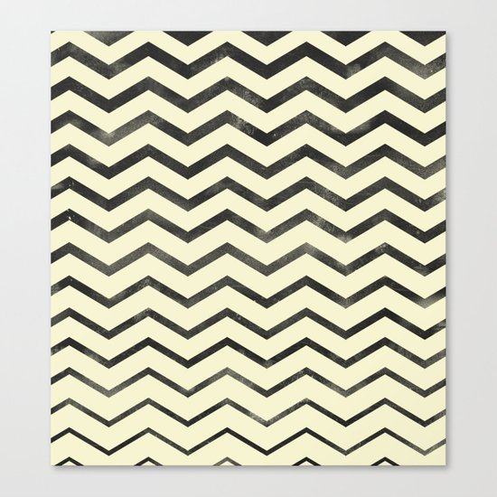 Zag (natural) Canvas Print
