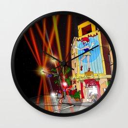venice beach marionette Wall Clock