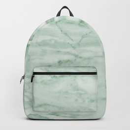 Light Jade Marble Backpack