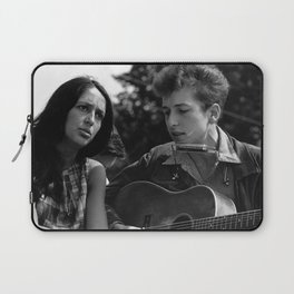Bob Dylan and Joan Baez at the March on Washington, 1963 Laptop Sleeve