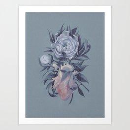 virtuous heart Art Print