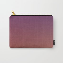 MIDNIGHT GLOW - Minimal Plain Soft Mood Color Blend Prints Carry-All Pouch