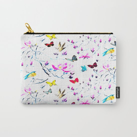 Butterflies Forest Carry-All Pouch