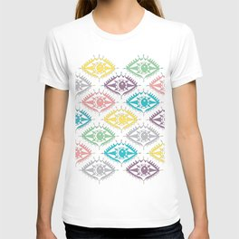 """""""I see you"""" 80s eye pattern T-shirt"""